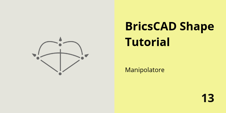 Manipolatore in BricsCAD Shape