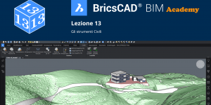 Le superfici TIN in BricsCAD BIM - Lezione 13